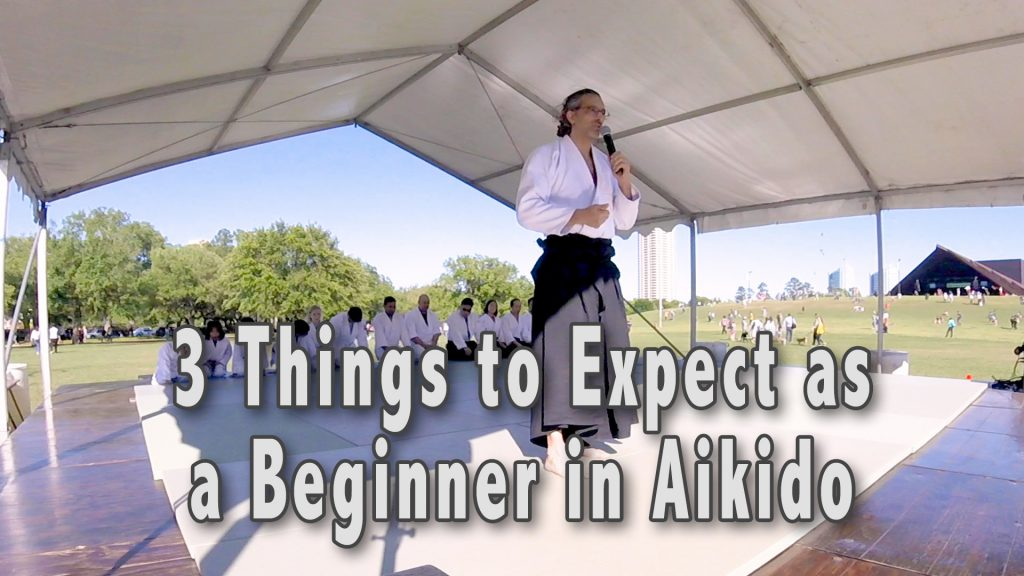 3 things to expect as a beginner in Aikido